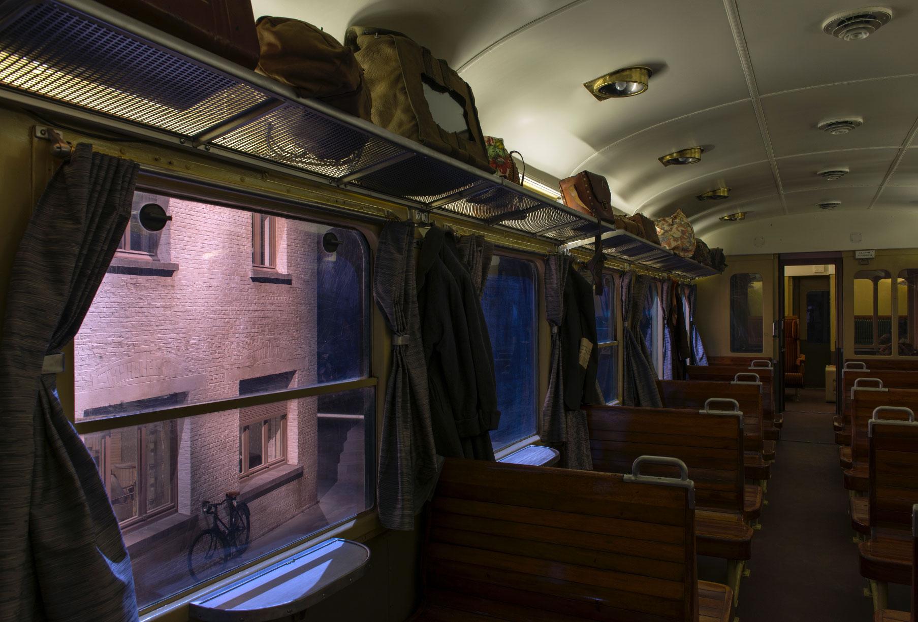 Train World - Intérieur voiture M1 © Marie-Françoise Plissart