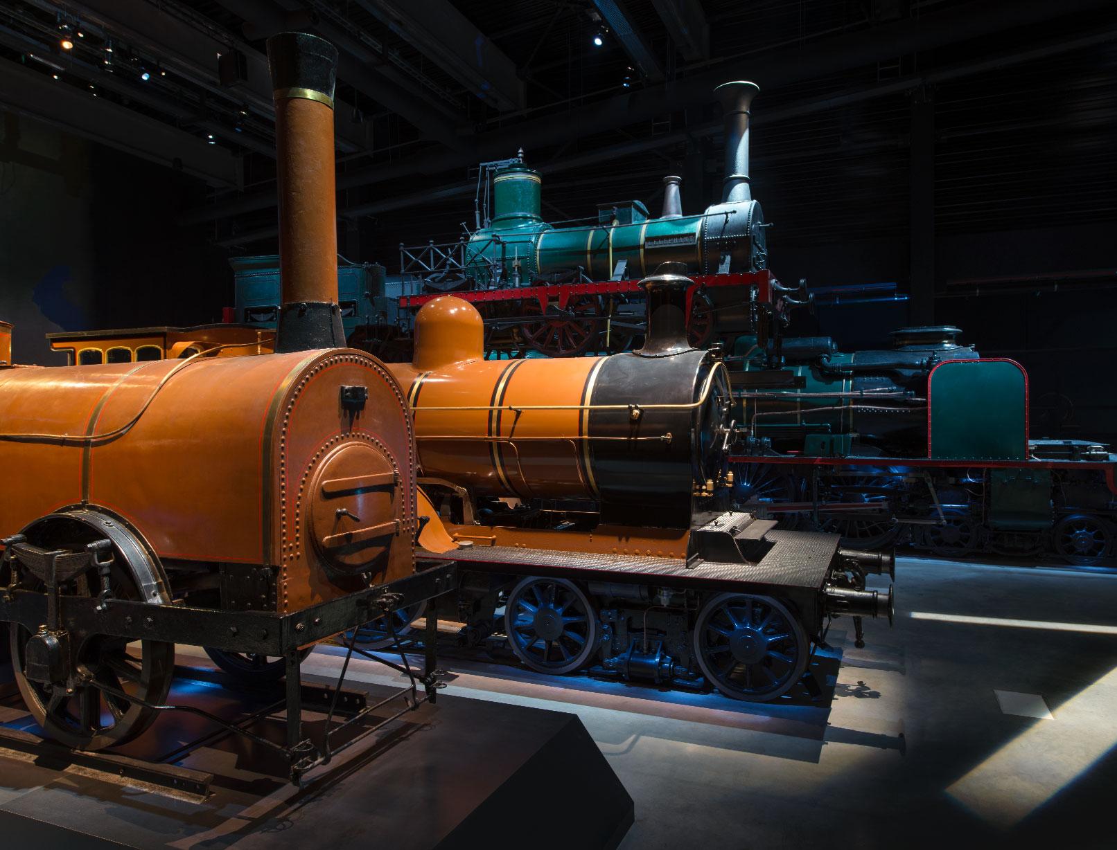 Train World - Le siècle de la vapeur © Marie-Françoise Plissart