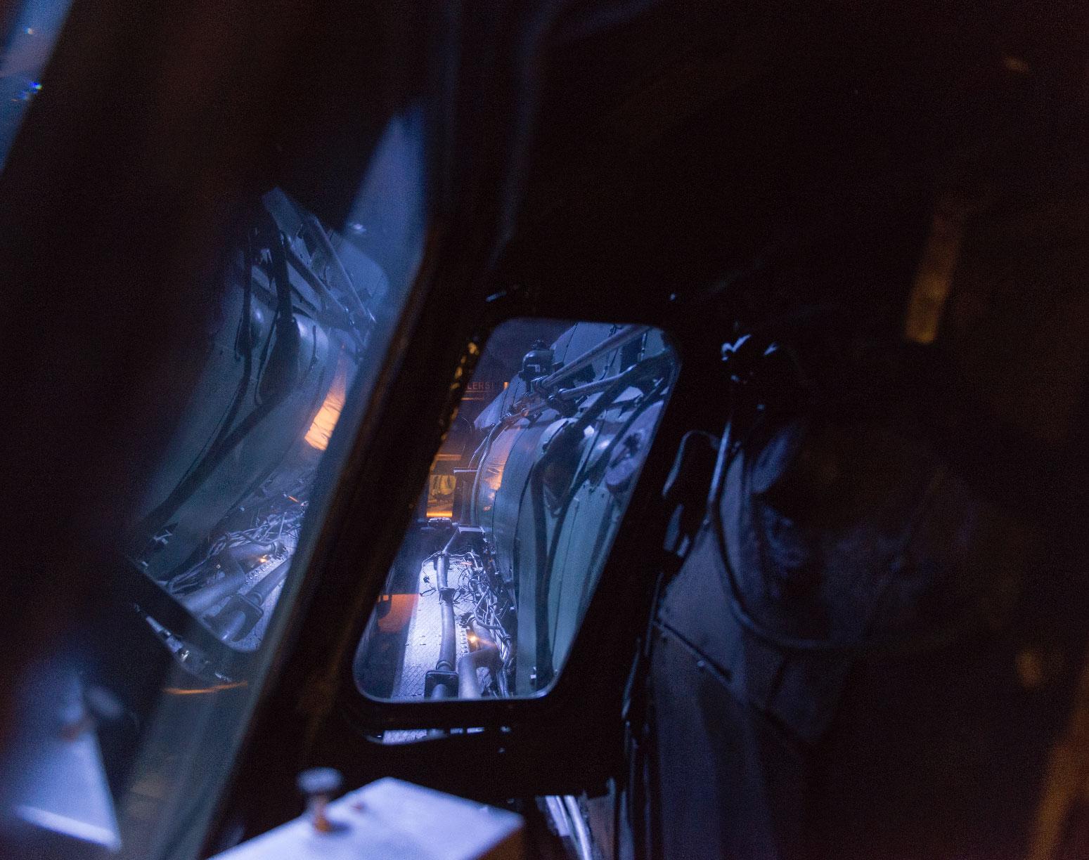 Train World - Poste de conduite de la Type 12 © Marie-Françoise Plissart